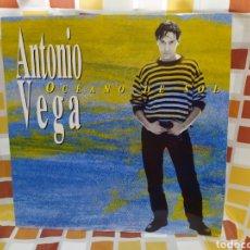 Discos de vinilo: ANTONIO VEGA–OCÉANO DE SOL. LP VINILO EDICIÓN ORIGINAL DE 1994. Lote 254418825