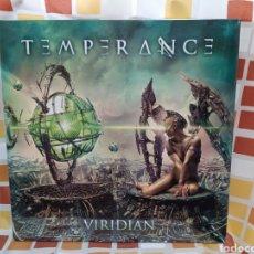 Discos de vinilo: TEMPERANCE–VIRIDIAN . LP VINILO GATEFOLD. PRECINTADO.. Lote 254421020