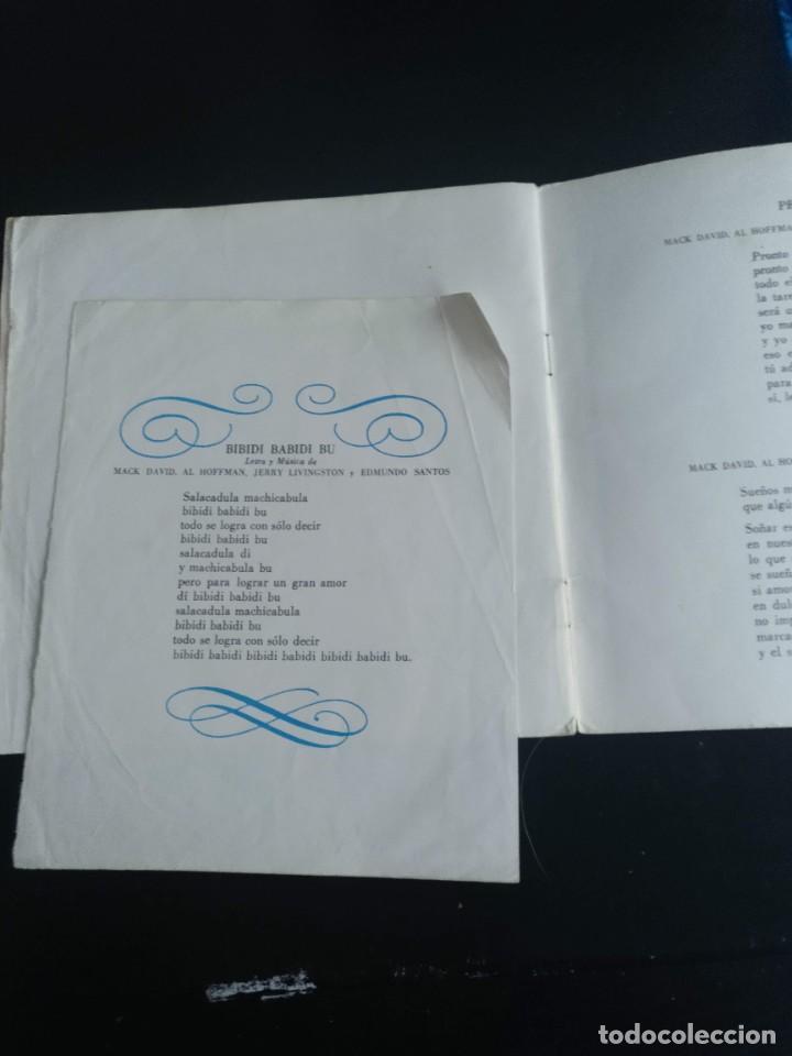 Discos de vinilo: LA CENICIENTA , WALT DISNEY. Discolibro 1967 - Foto 4 - 254426900