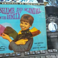 Discos de vinilo: JUAN MONTEGO EP SHAME AND SCANDAL IN THE FAMILY + 3 ESPAÑA 1965 ESCUCHADO. Lote 254430850