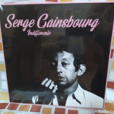 Discos de vinilo: SERGE GAINSBOURG–INDIFFÉRENTE. LP VINILO PRECINTADO.. Lote 254431420