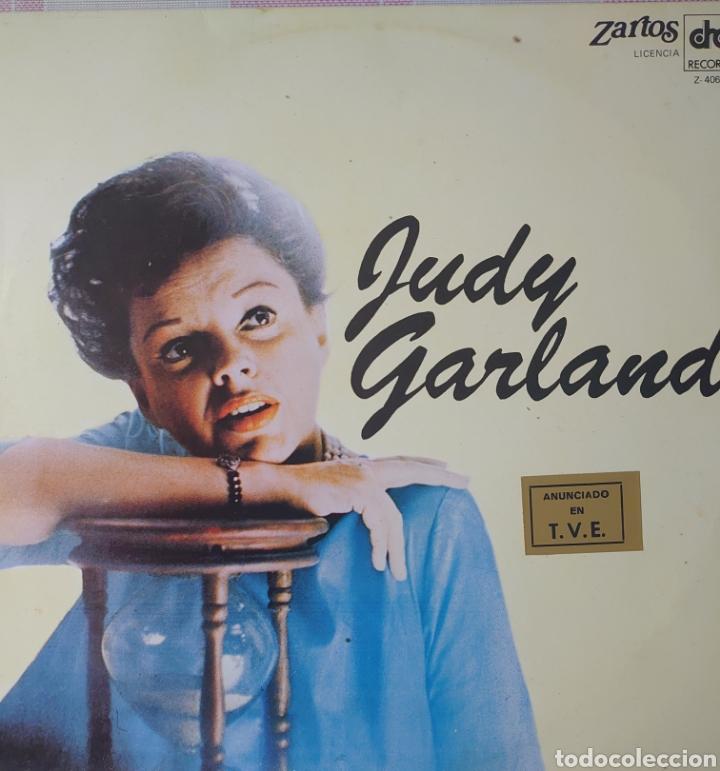 JUDY GARLAND LP SELLO ZARTOS EDITADO EN ESPAÑA AÑO 1980.. (Música - Discos - LP Vinilo - Étnicas y Músicas del Mundo)