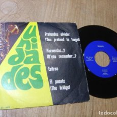 Discos de vinilo: UNIDADES. -PRETENDES OLVIDAR...RECUERDAS?...ERITREA... EL PUENTE- 1975 PROBADO.. Lote 254447650