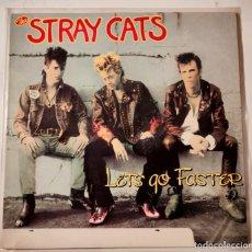 Discos de vinilo: STRAY CATS LET'S GO FASTER LIBERATION RECORDS ED. AUSTRALIA 1990 LP OFICIAL. Lote 254452085