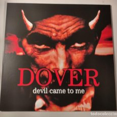 Discos de vinilo: DOVER DEVIL CAME TO ME VINILO COLOR RED/BLACK SPLATTER SUBTERFUGE RECORDS INCLUYE REGALO. Lote 254455115