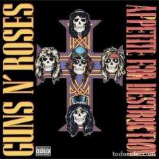 Discos de vinilo: GUNS N' ROSES APPETITE FOR DESTRUCTION (LP) . VINILO HARD ROCK SLASH AX. Lote 254458315