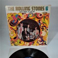 Discos de vinilo: THE ROLLING STONES- 6 / CUBIERTA PSICODÉLICA DISEÑADA SOLO PARA EL MERCADO JAPONÉS. Lote 254471325