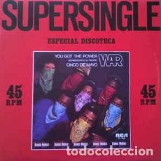 "Discos de vinilo: WAR - YOU GOT THE POWER = CONSEGUISTE EL PODER (12"", MAXI) LABEL:RCA CAT#: PC-3062. Lote 254473125"