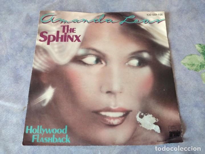 AMANDA LEAR – THE SPHINX- HOLLYBOOD FLASHBACK, 1978 (Música - Discos - Singles Vinilo - Electrónica, Avantgarde y Experimental)