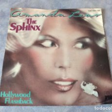 Discos de vinilo: AMANDA LEAR – THE SPHINX- HOLLYBOOD FLASHBACK, 1978. Lote 254475990