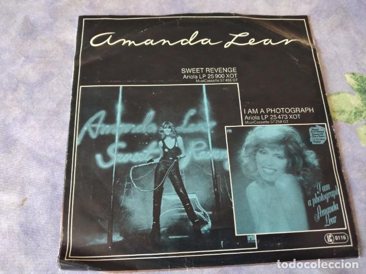 Discos de vinilo: Amanda Lear – The Sphinx- hollybood flashback, 1978 - Foto 3 - 254475990