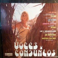 Discos de vinilo: VOCES Y CONJUNTOS//LOS GRITOS/LOS MISMOS/LOS HURACANES/CONCHITA BAUTISTA/1969/(VG VG). LP. Lote 254478135