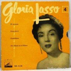 Discos de vinilo: GLORIA LASSO - EL TORRENTE - CERCA DE TI - SINGLE. Lote 254480845