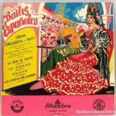 Discos de vinilo: BAILES ESPAÑOLES - GRAN ORQUESTA - LA CRUZ DE MAYO - SINGLE. Lote 254481660