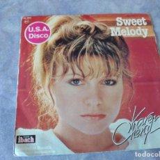 Discos de vinilo: KAREN CHERYL – SING TO ME MAMA / SWEET MELODY, 1978. Lote 254481845