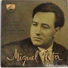 Discos de vinilo: MIGUEL FLETA - LA DOLORES - SINGLE. Lote 254481855