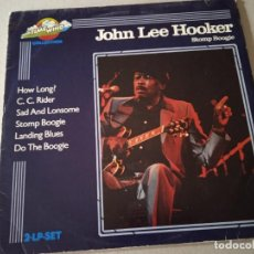 Discos de vinilo: JOHN LEE HOOKER. STOMP BOOGIE. 2 LP. TIME WIND COLLECTION. HOLANDA.. Lote 254482295