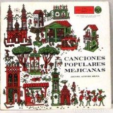 Discos de vinilo: MIGUEL ACEVES MEJIA - CANCIONES POPULARES MEJICANAS - DOBLE SINGLE. Lote 254482485
