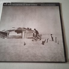 Discos de vinilo: DUST BOWL BALLDAS SUNG BY WOODY GUTHRIE. FLOKWAYS RECORS. ESPAÑA. 1983.. Lote 254483705