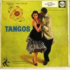 Discos de vinilo: TANGOS PERFECTO PARA BAILAR - DOBLE SINGLE. Lote 254484030