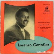 Discos de vinilo: LORENZO GONZALEZ - HISTORIA DE UN AMOR - SINGLE. Lote 254484205