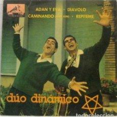 Disques de vinyle: DUO DINAMICO - ADAN Y EVA - DIAVOLO - SINGLE. Lote 254484525