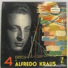 Discos de vinilo: ALFREDO KRAUS - 4 EXITOS - SINGLE. Lote 254489135