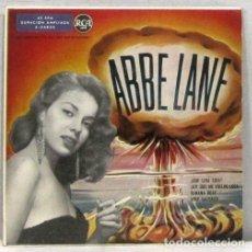 Discos de vinilo: ABBE LANE - QUE SERA SERA - SINGLE. Lote 254489355