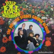 Discos de vinilo: THE ROLLING STONES–YOUR POLL WINNERS:THE ROLLING STONES GOLDEN ALBUM. Lote 254491165