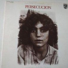 Discos de vinilo: JUAN PEÑA,EL LEBRIJANO,CANTA PERSECUCION, PHILIPS,1976, ED ESPECIAL PARA DISCO LIBRO. Lote 254492030