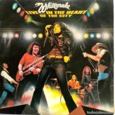 Discos de vinilo: WHITESNAKE-LIVE IN THE HEART OF THE CITY. Lote 254500410