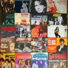 """Discos de vinilo: LOTE 20 BUENOS 7"""" SINGLES AÑOS 70 ROCK. Lote 254502790"""