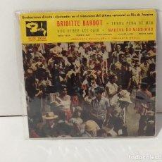 Discos de vinilo: BRIGITTE BARDOT 1961. Lote 254518675