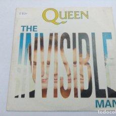 Dischi in vinile: QUEEN/THE INVISIBLE MAN/SINGLE.. Lote 254522290