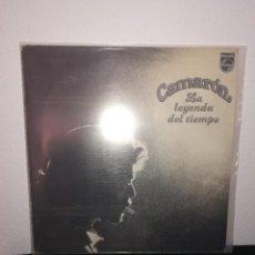 Discos de vinilo: LP CAMARÓN - LA LEYENDA DEL TIEMPO, PHILIPS 1979, MUY BUEN ESTADO. Lote 254523130