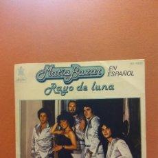 Disques de vinyle: SINGLE. MATIA BAZAR. RAYO DE LUNA. HISPAVOX. Lote 254523375