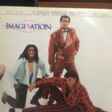 Discos de vinilo: IMAGINATION LOOKING AT MIDNIGHT M/S . ED LIMITADA. Lote 254527110