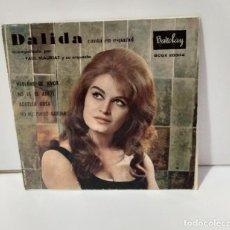 Discos de vinilo: DALIDA 1960. Lote 254528655