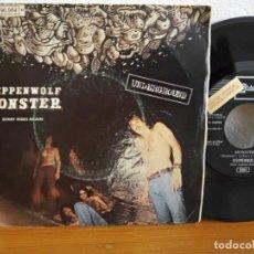 Discos de vinilo: STEPPENWOLF - MONSTER+ BERRY RIDES AGAIN - EMI (1969) PROMOCIONAL. Lote 254529540