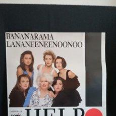 Discos de vinilo: SINGLE BANANARAMA - LANANEENEENOONOO, 1989. Lote 254529775