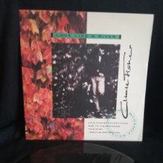 """Discos de vinilo: MAXI CLIMIE FISHER - LOVE LIKE A RIVER (12""""), 1988 EXCELENTE, NUEVO. Lote 254532755"""