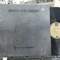 Discos de vinilo: SINGLE GUN THEORY MAXI EXORCISE THIS WASTELAND CANADÁ 1987. Lote 254533320