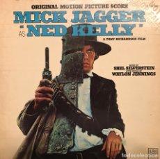 Discos de vinilo: MICK JAGGER - NED KELLY B.S.O 1970. Lote 254534345
