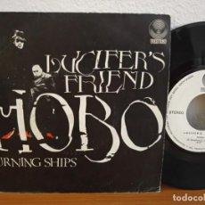 Discos de vinilo: LUCIFER'S FRIEND - HOBO + BURNING SHIPS - VERTIGO (1972). Lote 254534515