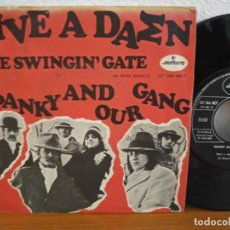 Discos de vinilo: SPANKY AND OUR GANG - GIVE A DAMN + THE SWINGIN'GATE - MERCURY (1968). Lote 254534745
