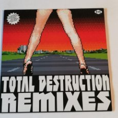 Disques de vinyle: URAL 13 DIKTATORS - TOTAL DESTRUCTION (REMIXES) - 2001. Lote 254541160