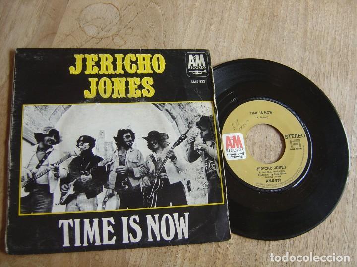 JERICHO JONES. -TIME IS NOW- PROBADO. (Música - Discos de Vinilo - EPs - Pop - Rock Internacional de los 70)