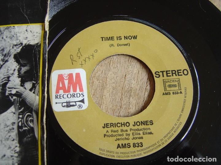 Discos de vinilo: JERICHO JONES. -TIME IS NOW- PROBADO. - Foto 2 - 254544595