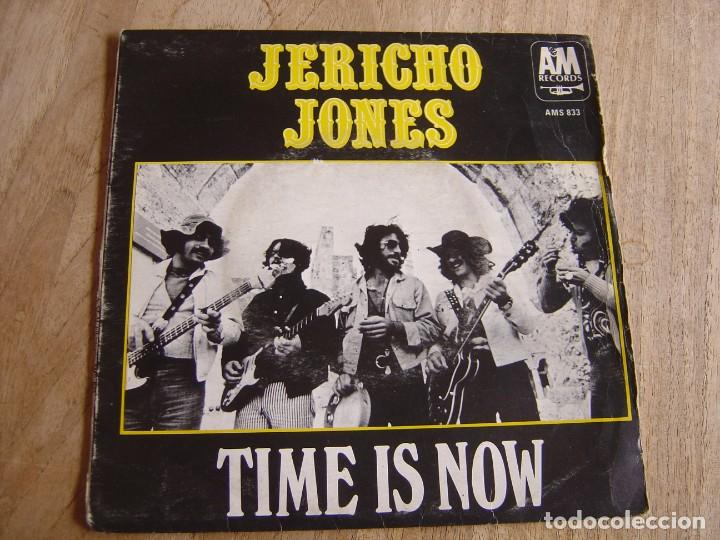 Discos de vinilo: JERICHO JONES. -TIME IS NOW- PROBADO. - Foto 3 - 254544595