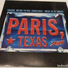 Discos de vinilo: RY COODER - PARIS, TEXAS (ORIGINAL MOTION PICTURE SOUNDTRACK). Lote 254547125
